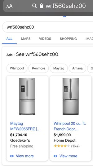 Refrigerator for Sale in Issaquah, WA