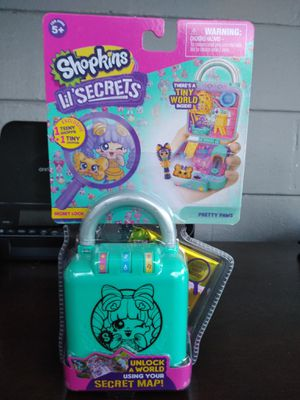 🐾🐶 Sealed Shopkins Lil Secrets Pretty Paws for Sale in Tampa, FL