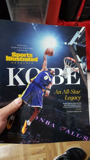 2020 All Star Sport Illustrated Tribune to Kobe Bryant Magazine for Sale in Los Angeles, CA