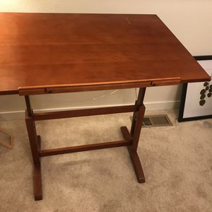 Cherry Drafting Desk for Sale in Seattle, WA