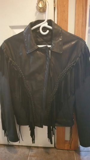 Motorcycle women's leather jacket for Sale in Palatine, IL