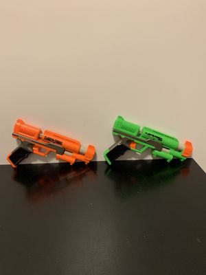 Nerf Dart Tag Guns (Orange and Green) for Sale in Oklahoma City, OK
