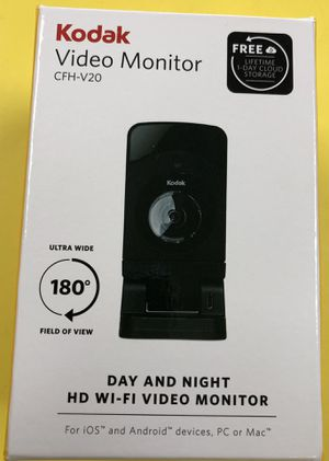 Kodak CFH-V20 720p - Day Night IR Cube Camera W 1.75mm Fixed Lens - BRAND NEW NEVER BEEN USED for Sale in Orlando, FL