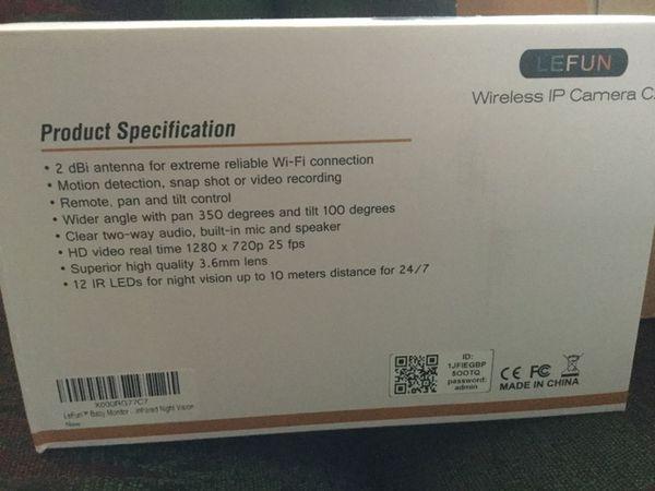 Wifi Camera/nanny Cam for Sale in Kennewick, WA - OfferUp