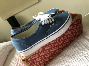 Blue Vans Size: 9 for Sale in Sacramento, CA