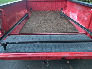 """Metal Bed Frame 54"""" wide x 64""""+length Like New for Sale in Colonie, NY"""
