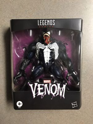 VENOM Marvel Legends Series Collectible Action Figure Hasbro **MINT BRAND NEW** for Sale in Addison, TX