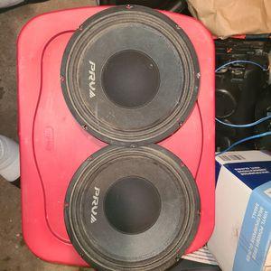 10 ' prva voice speakers for Sale in Woonsocket, RI