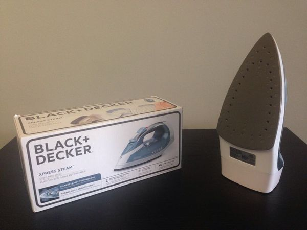 Black + Decker Xpress Steam Iron