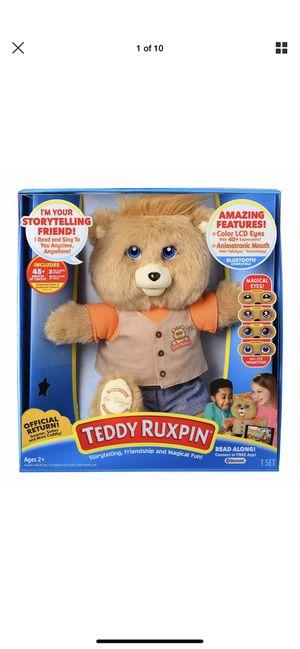 Animatronic Teddy Ruxpin Official Return! Your Storytelling Friend! for Sale in Oak Lawn, IL