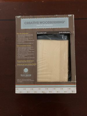 Walnut Hallow Creative Wood burning Craft Kit for Sale in Alafaya, FL