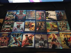 Marvel blu-ray/4K movie collection for Sale in Downey, CA