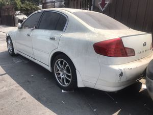 Infiniti g35 part out for Sale in Los Angeles, CA