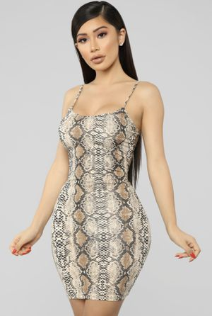 Fashion Nova Snake Dress for Sale in Visalia, CA