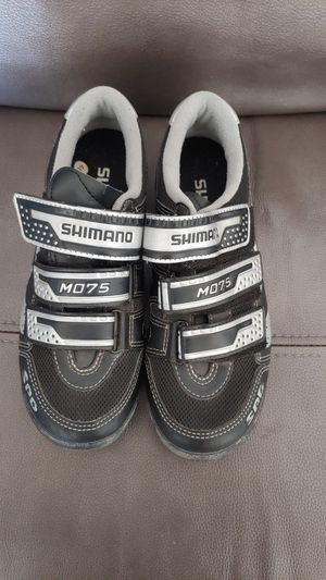Used women's Shimano cycling shoes Size 5.8 US for Sale in Los Angeles, CA