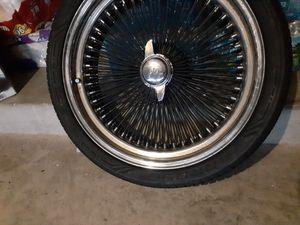 22 inch wire rims/wheels for Sale in Miramar, FL