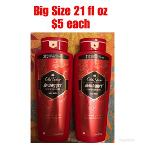Big Size 21 fl oz Old Spice Body Wash $5 each for Sale in Monterey Park, CA