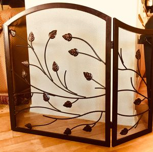 Decorative metal art fireplace-screen for Sale in Chandler, AZ