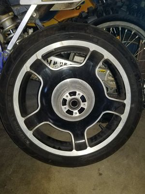 Harley Davidson wheel and tire for Sale in Torrance, CA