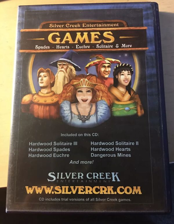 Silver Creek Games CD for PC