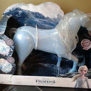 Frozen II Light Up Horse. Makes Ocean Noise for Sale in Katy, TX