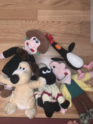 Wallace and grommet stuffed animal set. for Sale in Atlanta, GA