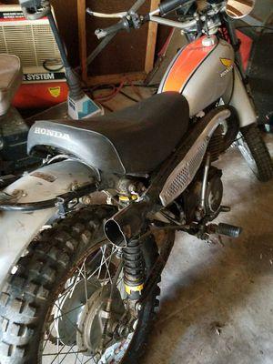 Honda Elsinore 250 dirt bike for Sale in Detroit, MI