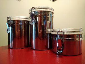 Stainless steel storage containers for Sale in San Dimas, CA