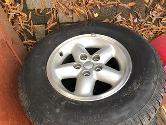Alloy rims from Jeep Wrangler package deal for Sale in District Heights,  MD
