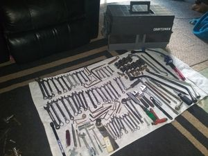 TOOLS AND CRAFTSMAN TOOL BOX for Sale in Vancouver, WA