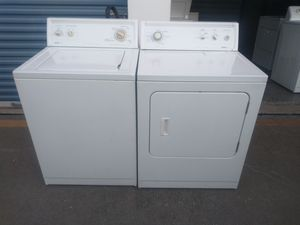 Kenmore washer and dryer set súper capacity plus for Sale in Farmers Branch, TX