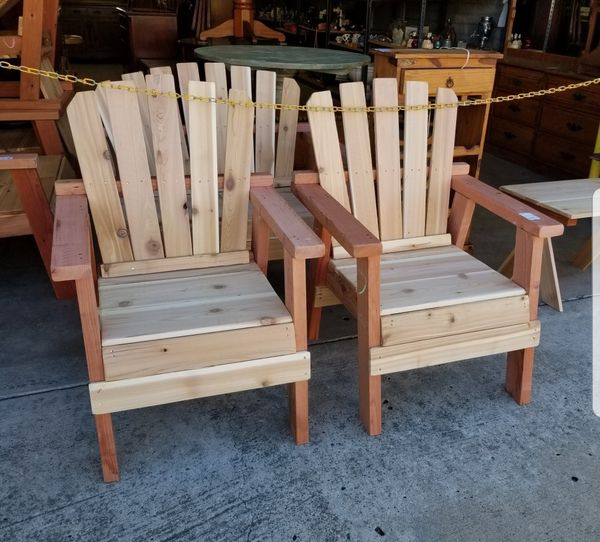 Outdoor patio furniture sets. Read description. Stained ...