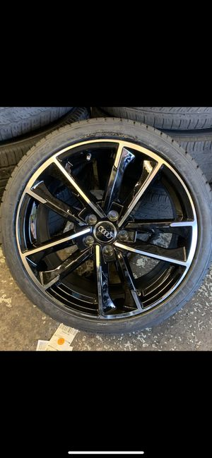 """Audi a4a5 19"""" new RS s line style rims tires set for Sale in Hayward, CA"""