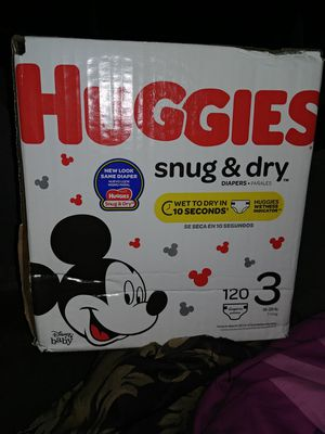 Huggies diapers for Sale in Dallas, TX