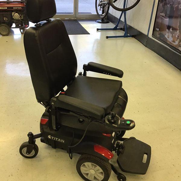 Titan Motorized Wheelchair
