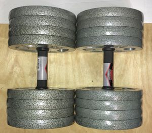 Weights 16x10lb plates with all steel bars (Over 160lbs) for Sale in Azusa, CA