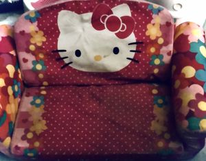 Hello kitty kids fold out chair bed for Sale in Tarpon Springs, FL