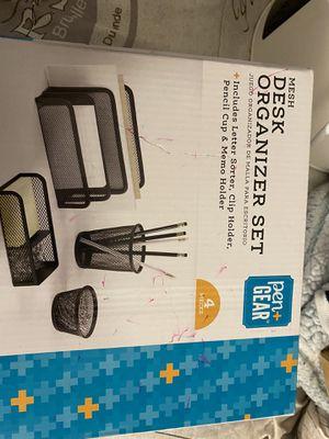 Wireless keyboard/ desk organizer set for Sale in Ruskin, FL