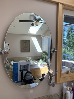 Two Mirrors and hardware in great shape. for Sale in Edmonds,  WA