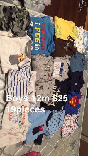 Boys 12m lot clothes now $20 for Sale in Leeds, AL
