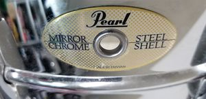 Pearl mirror chrome snare drum for Sale in Avondale, AZ