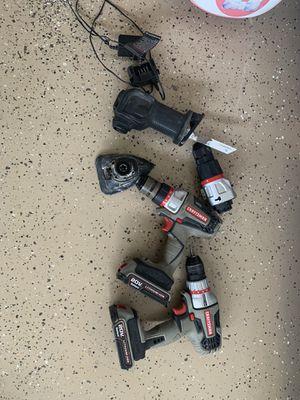 Craftsman 20v bolt on tools for Sale in Battle Ground, IN