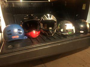 Bike helmets for sale for Sale in Henderson, NV