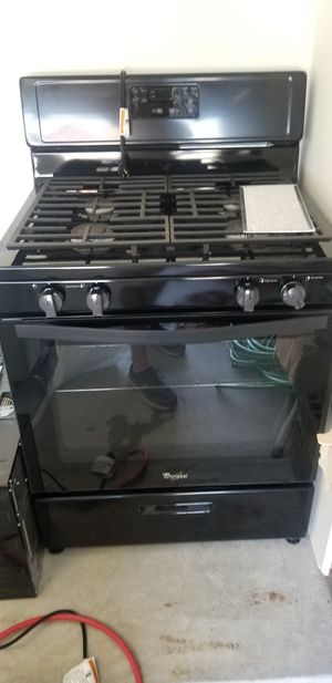 Whirlpool set appliances for Sale in Humble, TX