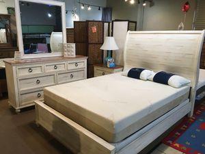 4 Pc Queen Bedroom Set - ONLY $799 for Sale in Cerritos, CA
