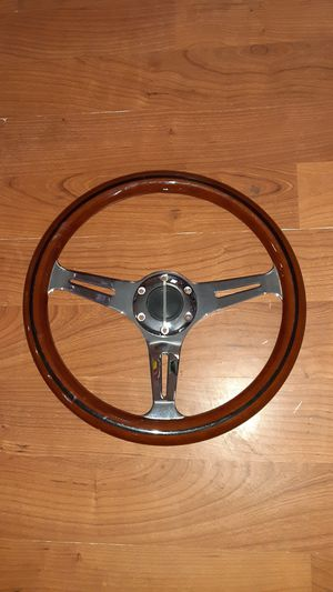 Wooden Steering Wheel for Sale in CRYSTAL CITY, CA