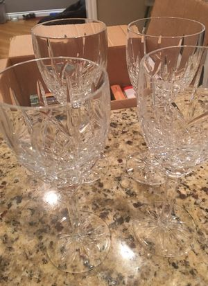 4 Waterford crystal goblets -Argyle for Sale in Redmond, WA