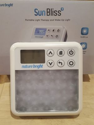 New. SUN BLISS Light Therapy for Sale in Tremont, IL