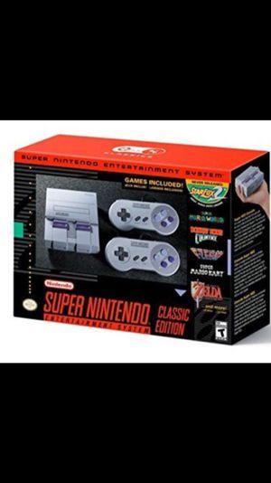 Super Nintendo Snes Classic $95 for Sale in Phoenix, AZ