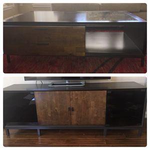Tv console and coffee table $400 obo for Sale in Dallas, TX